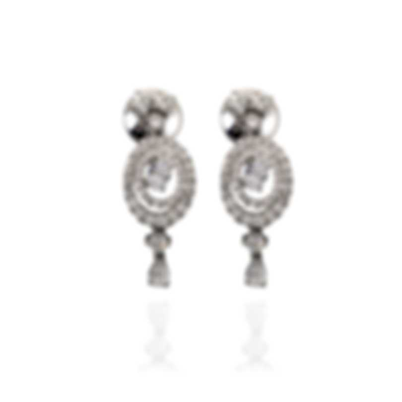 Salvini Febe 18k White Gold Diamond 1.53ct Earrings 20062055