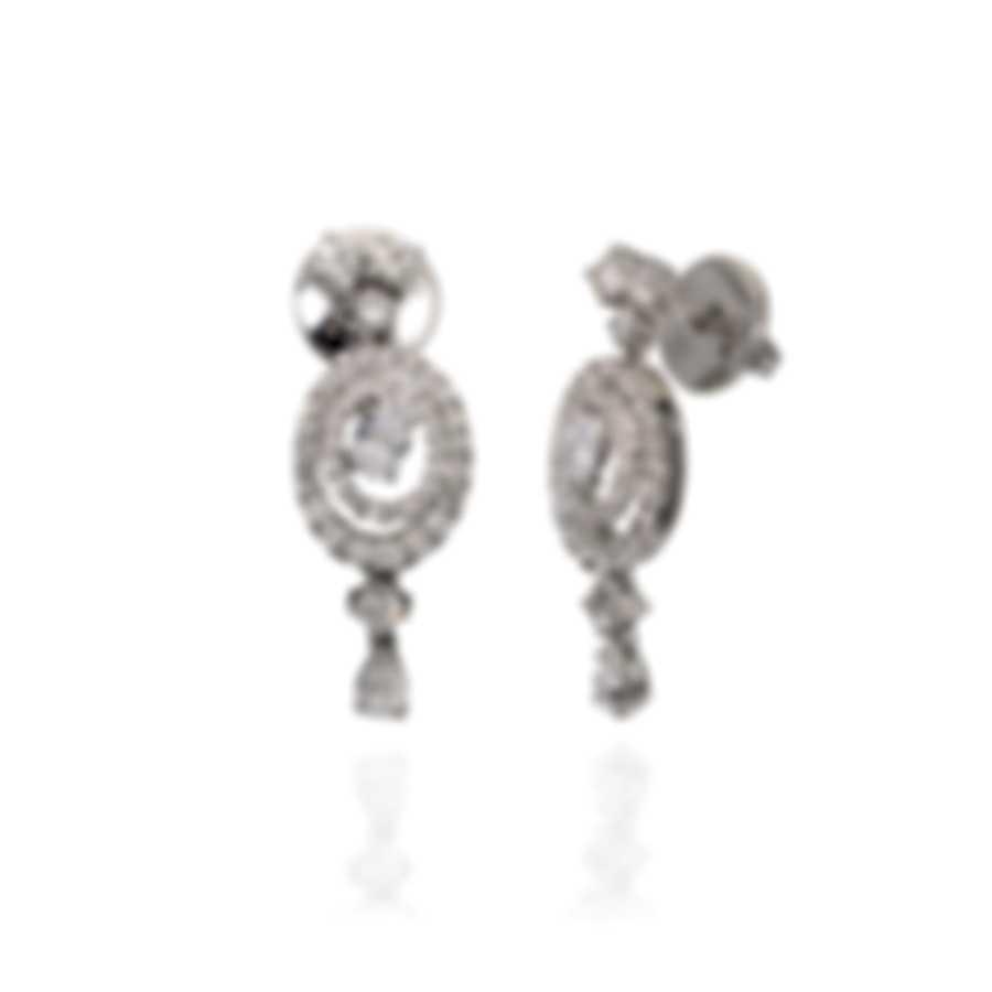 Salvini Febe 18k White Gold Diamond 1.53ct Earrings 20062055
