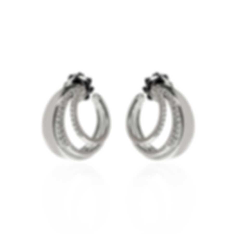 Salvini Euforia 18k White Gold Diamond 0.23ct Earrings 20071558