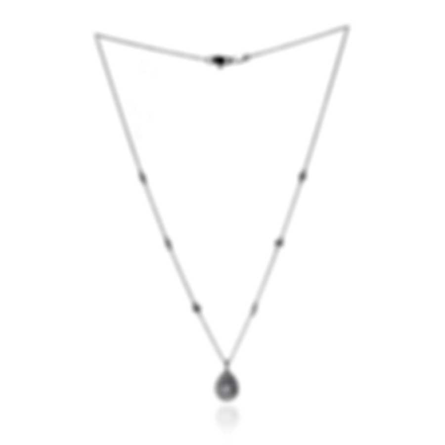 Salvini By Damiani Precious Loop 18k White Gold Diamond 0.53ct Necklace 20071574