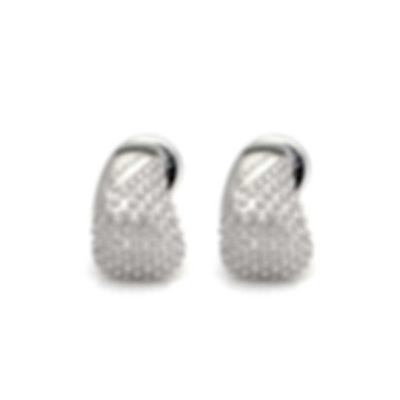 Salvini Bold Sterling Silver Diamond 0.01ct Earrings 20073409