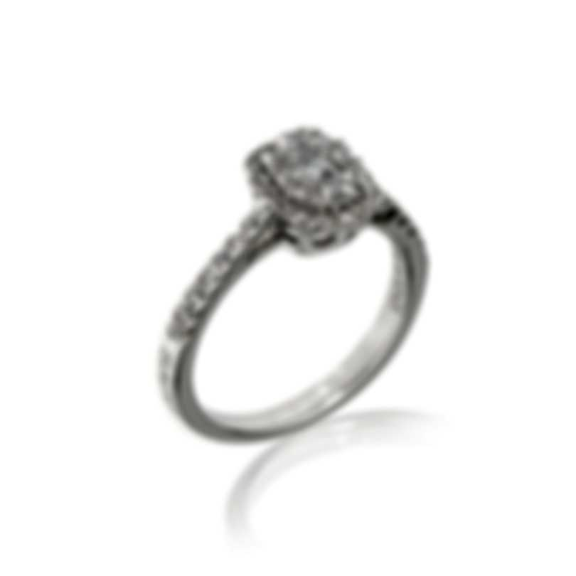 Salvini Forma 18k White Gold Diamond 0.5ct Ring Sz 6.5 20075364