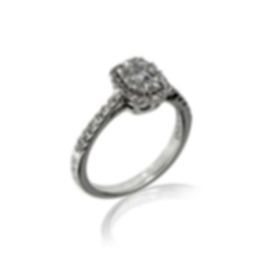 Salvini Forma 18k White Gold Diamond 0.5ct Ring Sz 6.5 20075364