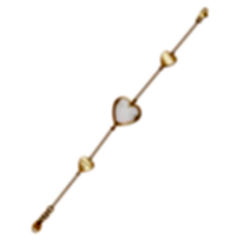 Salvini I Segni 18k Rose Gold Diamond 0.01ct & Mother Of Pearl Bracelet 20081492