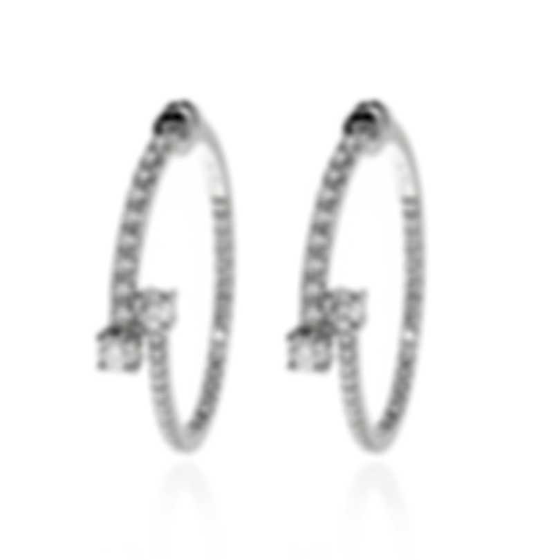 Salvini Constellations 18k White Gold Diamond 2.80ct Earrings 20081079