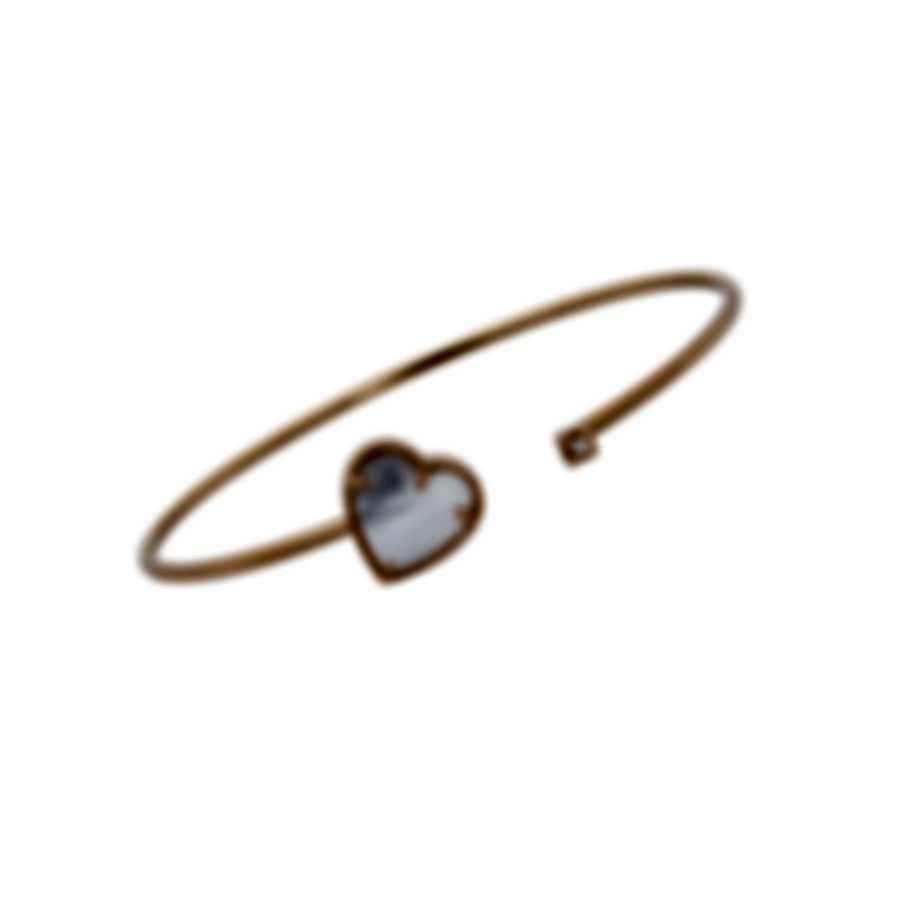 Salvini I Segni 18k Rose Gold Diamond 0.02ct & Mother Of Pearl Bracelet 20084132