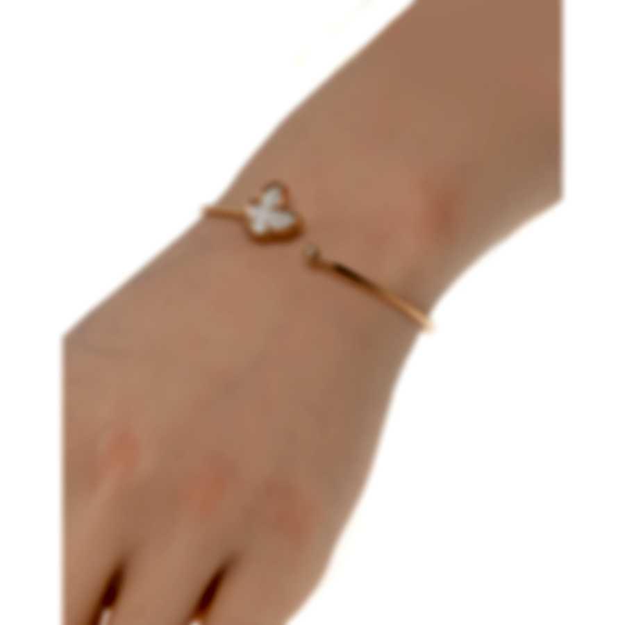 Salvini I Segni 18k Rose Gold Diamond 0.02ct & Mother Of Pearl Bracelet 20084133