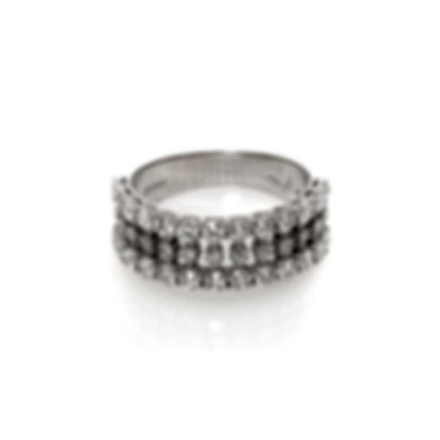 Salvini By Damiani Supreme 18k White Gold Diamond 1.5ct Ring Sz 7.5 81042559