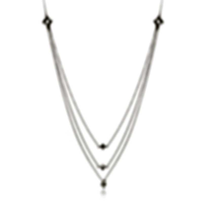 Salvini Luminosa 18k White Gold Diamond 0.16ct Necklace 81080261