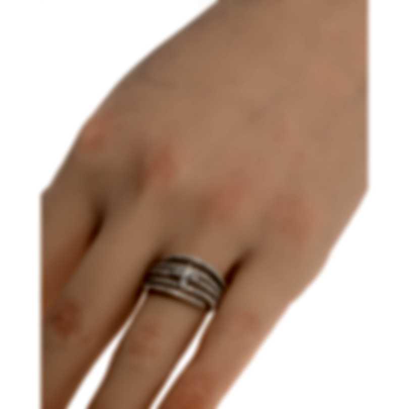 Salvini Luminosa 18k White Gold Diamond 0.69ct Ring Sz 6.5 81081865