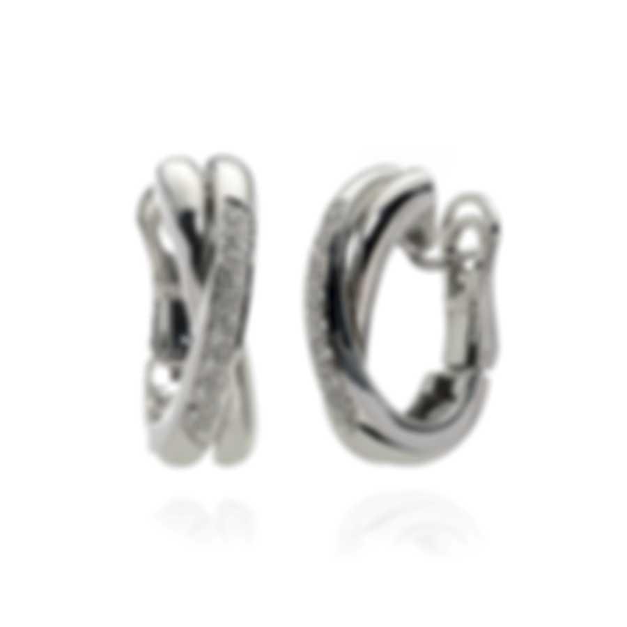 Salvini 18k White Gold Diamond(0.22ct Twd.)Earrings SOB00228
