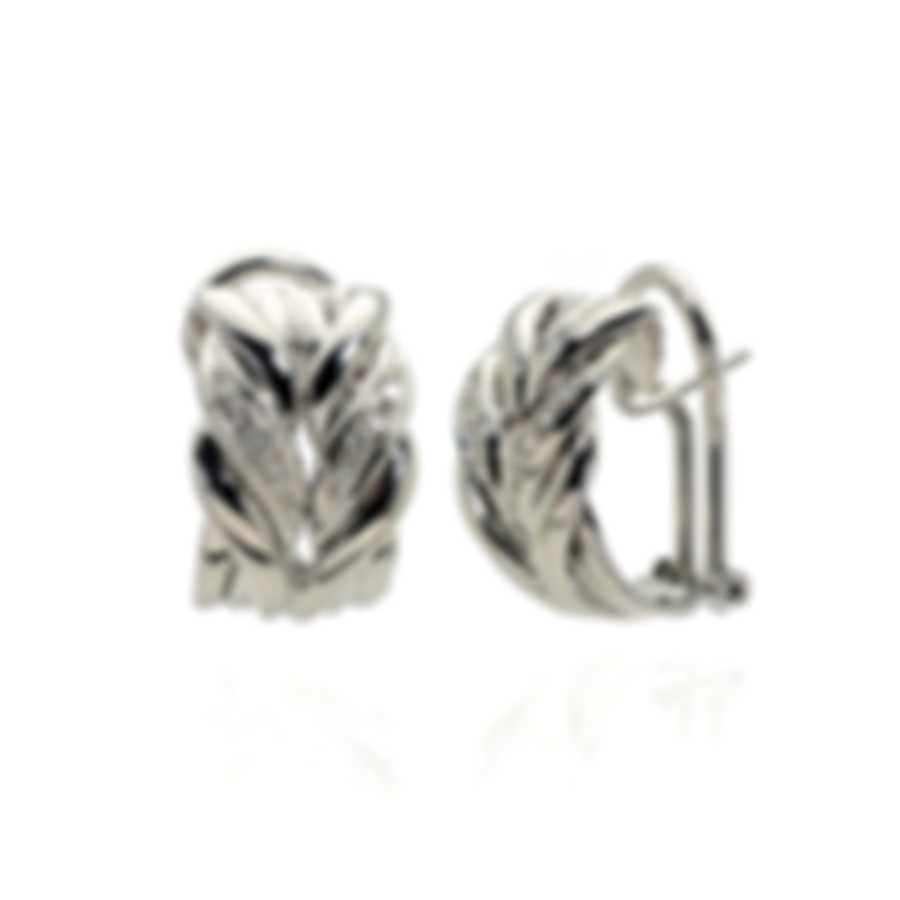 Salvini 18k White Gold Diamond(0.18ct Twd.)Earrings SOG48208