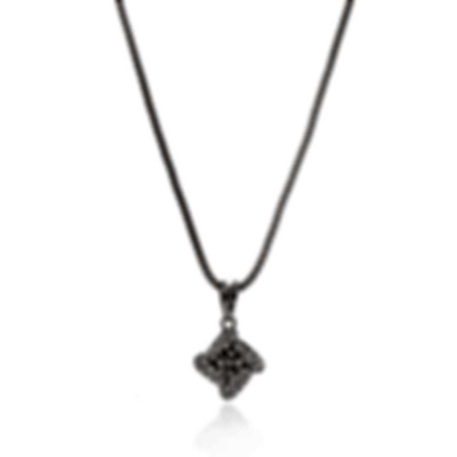 Salvini 18k White Gold Diamond(0.02ct Twd.)Necklace SDB41226