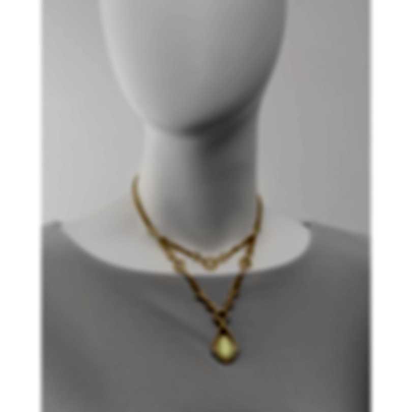 Stephen Webster Crystal Haze 18k Yellow Gold Diamond 2.62ct Necklace CHWP85