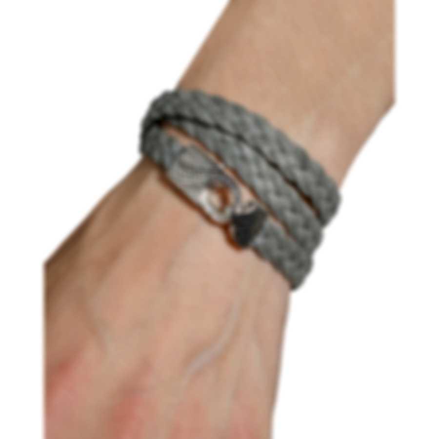 Stephen Webster Rayskin Leather And Sterling Silver Bracelet SB0444-OX