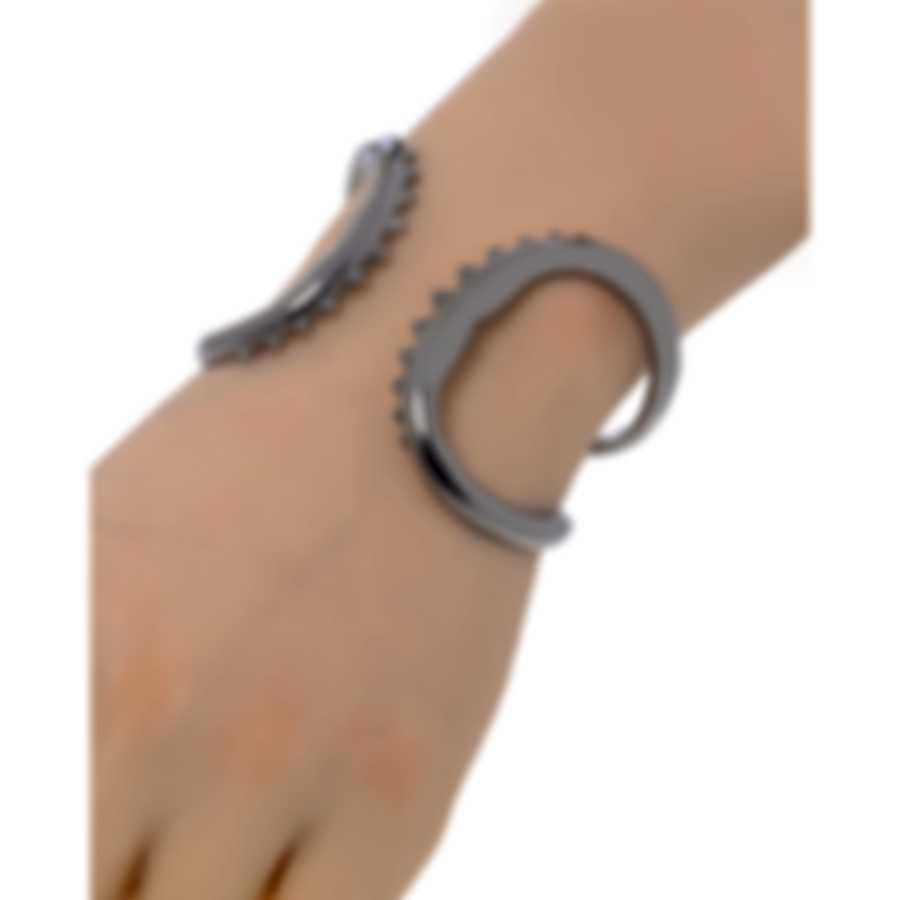Stephen Webster Jewels Verne Sterling Silver And Rhodium Bracelet SB0463-RH