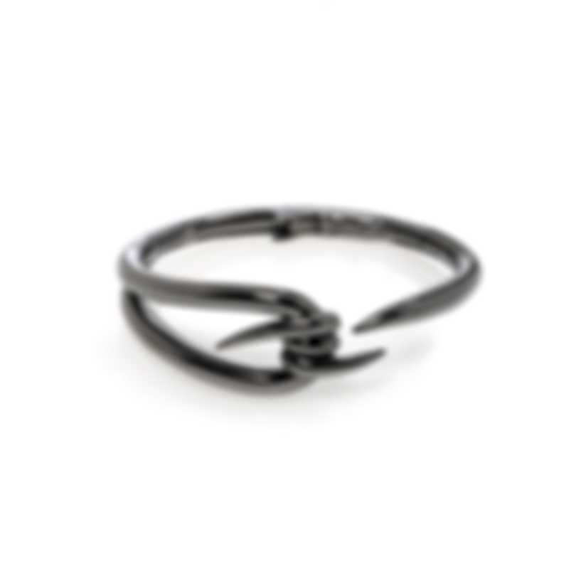 Stephen Webster Forget Me Knot Sterling Silver And Rhodium Bracelet SB0409-RH
