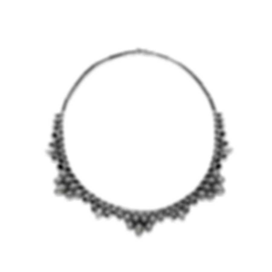 Stephen Webster Superstone Sterling Silver Crystal Haze Necklace SCH0115-XX-WMOP