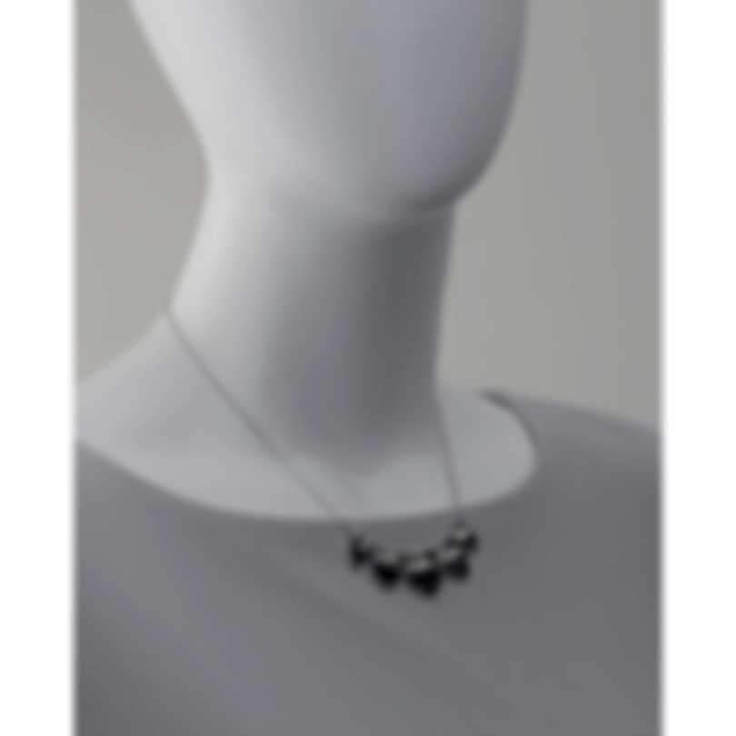 Stephen Webster Superstud Sterling Silver & Cat's Eye Crystal Haze Necklace SCH0
