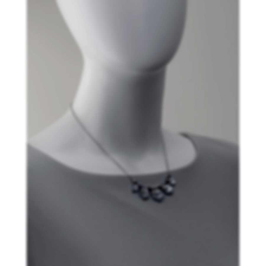 Stephen Webster Superstud Sterling Silver Crystal Haze Necklace SCH0128-XX-WMOP