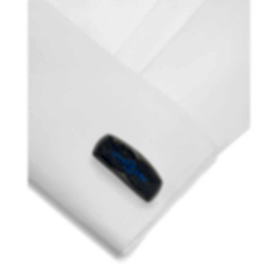 Stephen Webster Rayman Sterling Silver And Sapphires Cufflinks SM0185-RH-BS
