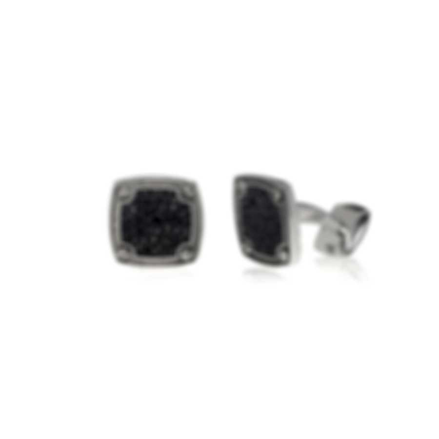 Stephen Webster England Made Me Sterling Silver & Sapphires Cufflinks SM0187-RH