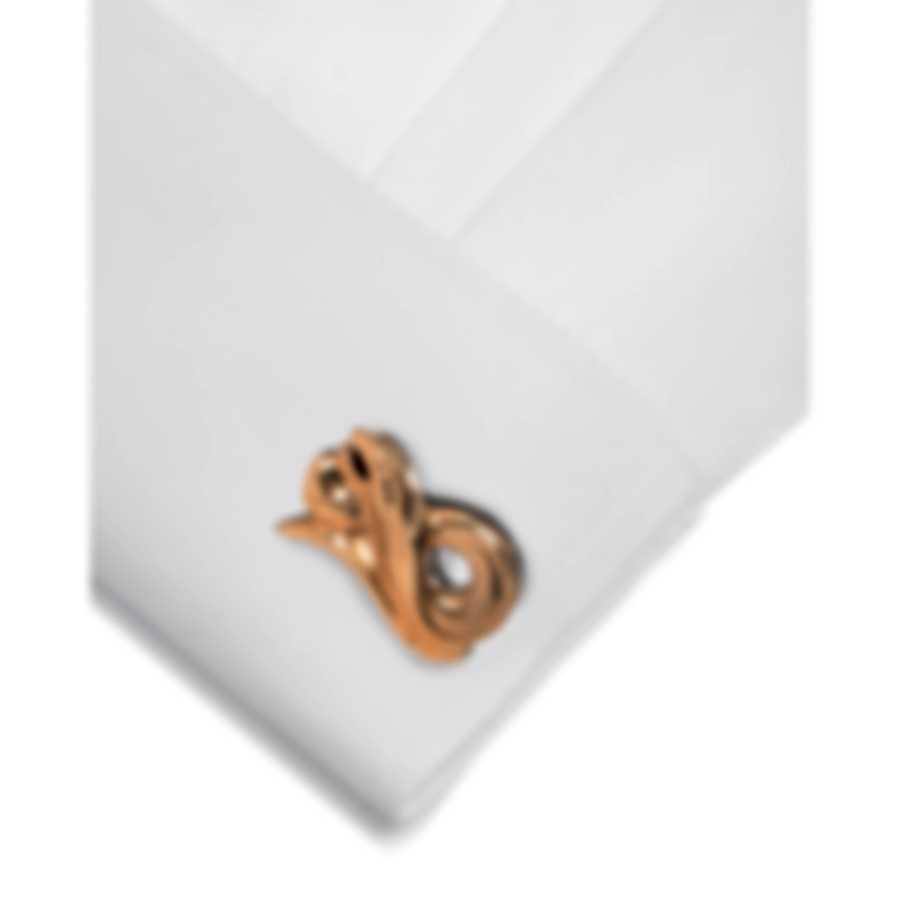 Stephen Webster Beasts Of London 18k Rose Gold & Sterling Silver Cufflinks SM019
