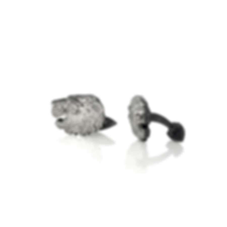 Stephen Webster Beasts Of London Sterling Silver Cufflinks SM0199-RH-XX