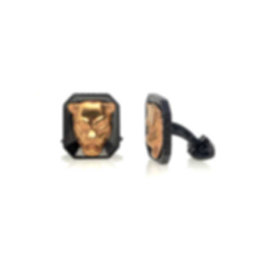 Stephen Webster Beasts Of London 18k Rose Gold & Sterling Silver Cufflinks SM020
