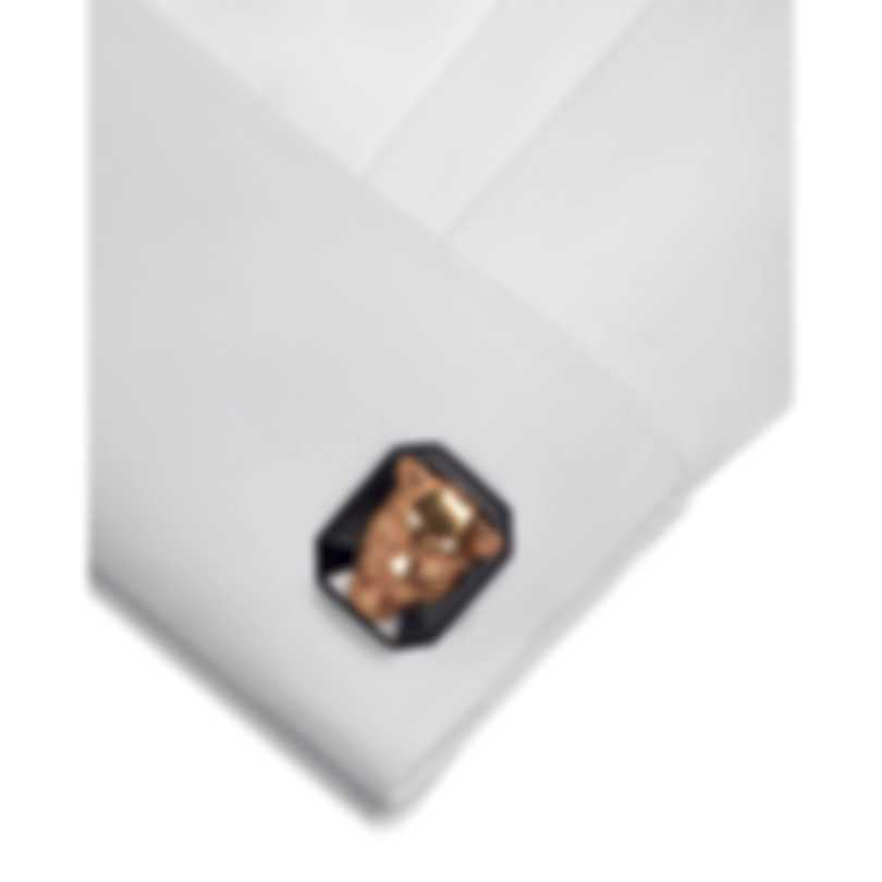 Stephen Webster Beasts Of London 18k Rose Gold & Sterling Silver Cufflinks SM020