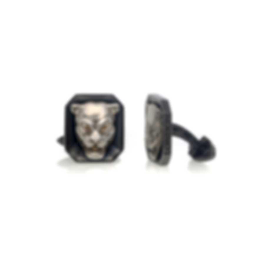 Stephen Webster Beasts Of London Sterling Silver Cufflinks SM0200-RH-XX