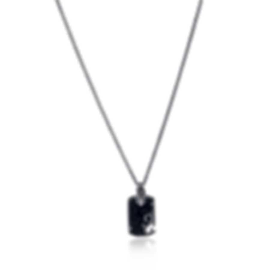 Stephen Webster Thorn 18k Rose Gold & Sterling Silver & Sapphire Necklace SP0467