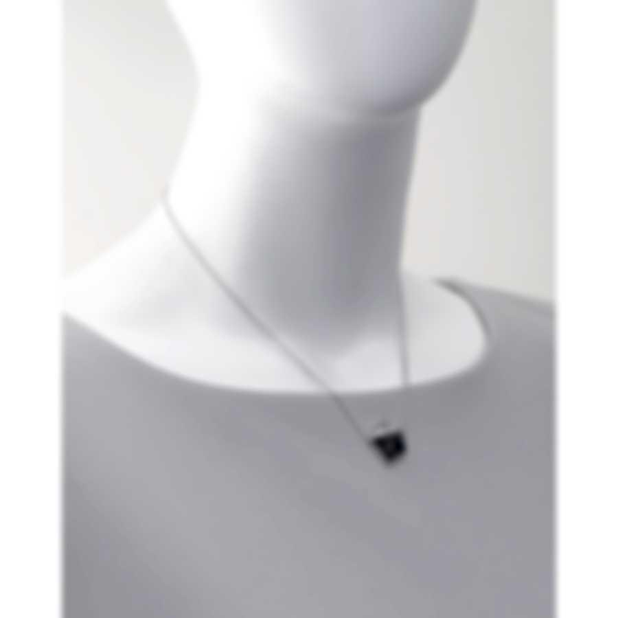 Stephen Webster Superstud Sterling Silver & Grey Cat's Eye Crystal Haze Necklace