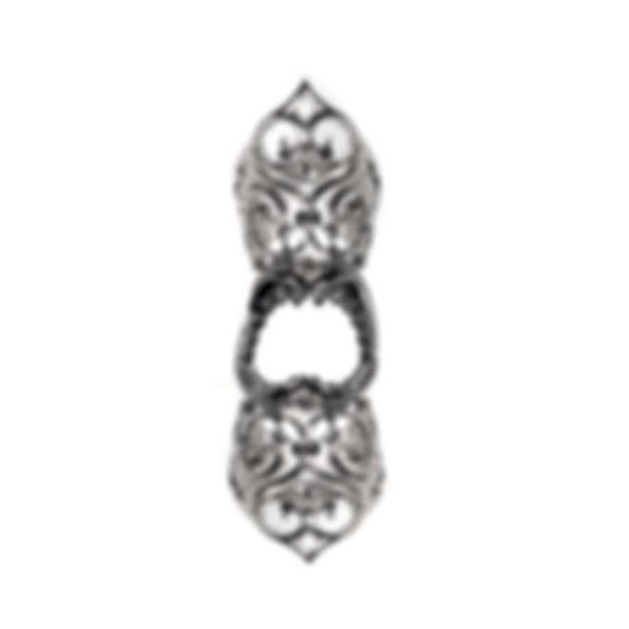 Stephen Webster Les Dents De La Mer Sterling Silver Ring Sz 8 SR0173-RH-XX-8
