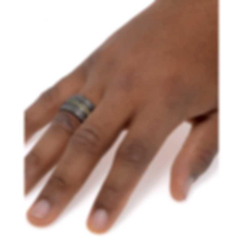 Stephen Webster Highwayman Sterling Silver Diamond 0.65ct & Sapphire Ring Sz 11