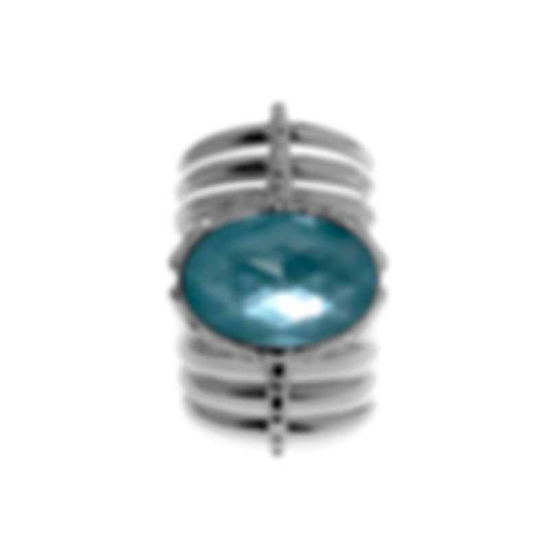 Stephen Webster Jewels Verne Sterling Silver & Turquoise Ring Sz 7 SR0348-XX-TUR