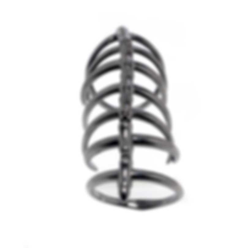 Stephen Webster Jewels Verne Sterling Silver And Rhodium Ring Sz 7 SR0334-RH-7