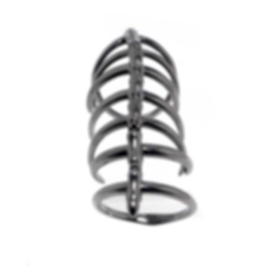 Stephen Webster Jewels Verne Sterling Silver And Rhodium Ring Sz 6 SR0334-RH-6