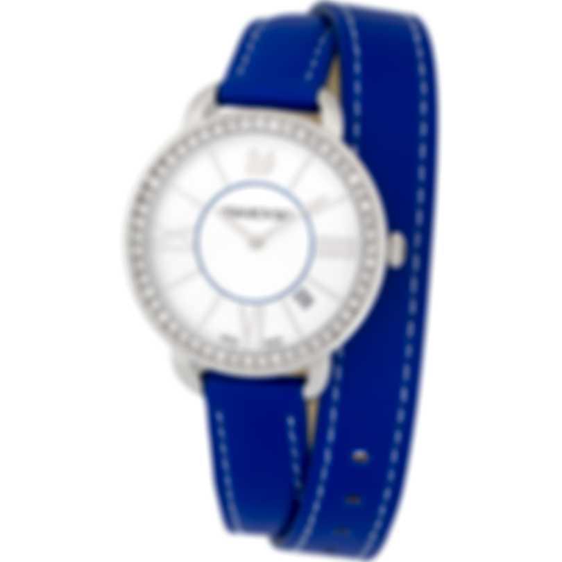 Swarovski Aila Day Double Tour Stainless Steel Quartz Women's Watch 5095944