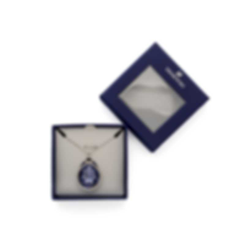 Swarovski Sage Rhodium Plated Crystal Necklace 5111962