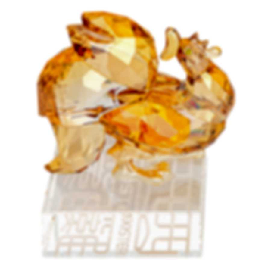 Swarovski Limited Edition Chinese Zodiac Rooster Gold Crystal Decoration 5262075