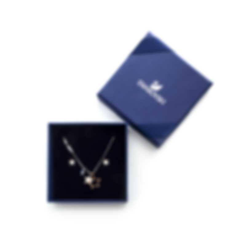 Swarovski Symbol Necklace And Earring Set 5407479