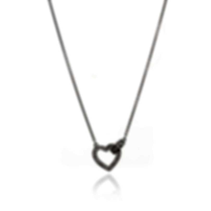 Swarovski Lovely Rhodium Plated Crystal Necklace 5411122