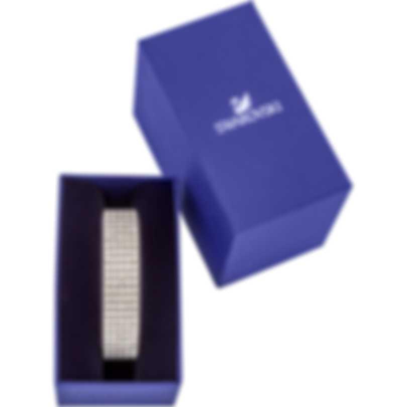"Swarovski ""Fit"" Stainless Steel Clear Swarovski Crystal Bracelet 5424589"