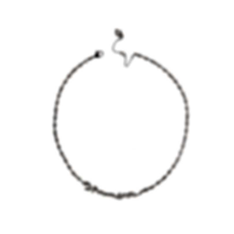 Swarovski Louison Rhodium & White Cubic Zirconia Necklace & Earring Set 5435164