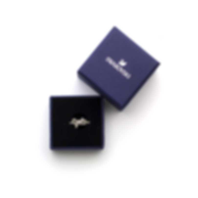 Swarovski Lifelong Bow Rhodium Plated Crystal Ring 5457269