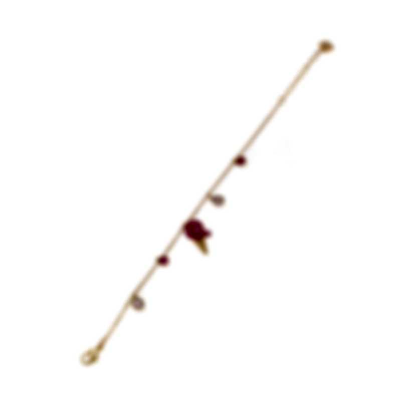 Swarovski No Regrets Gold Tone Light Multi Colored Crystal Bracelet 5457498