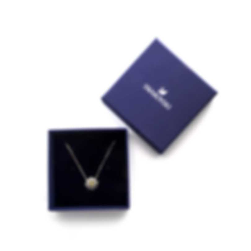Swarovski Sunshine Rhodium Plated  Crystal Necklace 5459588