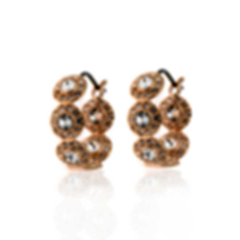 Swarovski Angelic Rose Gold Tone Crystal Earrings 5450922
