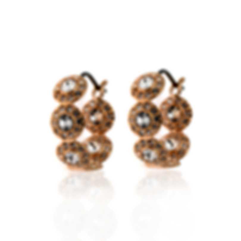 Swarovski Angelic Rose Gold Tone Crystal Earrings 5450922